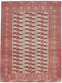 Turkaman Patina Teppe 131X177 Ekte Orientalsk Håndknyttet Mørk Rød/Brun (Ull, Persia/Iran)