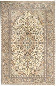 Keshan Patina Teppe 190X296 Ekte Orientalsk Håndknyttet Lys Grå/Mørk Beige (Ull, Persia/Iran)