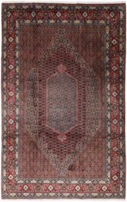 Senneh Teppe 200X310 Ekte Orientalsk Håndknyttet Mørk Brun/Brun (Ull, Persia/Iran)