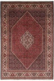 Bidjar Teppe 203X295 Ekte Orientalsk Håndknyttet Mørk Rød/Brun (Ull, Persia/Iran)