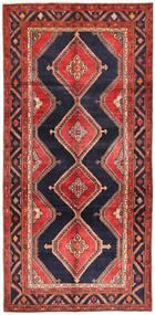 Koliai Teppe 151X310 Ekte Orientalsk Håndknyttet Teppeløpere Mørk Rød/Mørk Lilla (Ull, Persia/Iran)