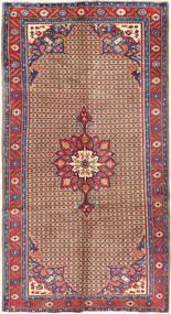 Koliai Teppe 160X300 Ekte Orientalsk Håndknyttet Teppeløpere Mørk Rød/Lysbrun (Ull, Persia/Iran)