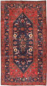 Koliai Teppe 161X296 Ekte Orientalsk Håndknyttet Teppeløpere Mørk Rød/Mørk Grå (Ull, Persia/Iran)