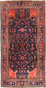 Koliai Teppe 160X304 Ekte Orientalsk Håndknyttet Teppeløpere Mørk Rød/Svart (Ull, Persia/Iran)
