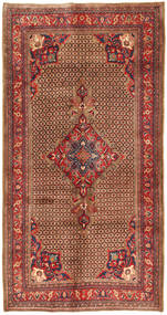 Koliai Teppe 158X308 Ekte Orientalsk Håndknyttet Teppeløpere Mørk Brun/Mørk Rød (Ull, Persia/Iran)