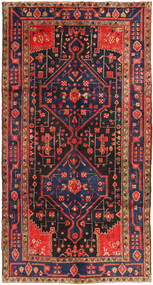 Koliai Teppe 156X293 Ekte Orientalsk Håndknyttet Teppeløpere Mørk Rød/Mørk Grå (Ull, Persia/Iran)