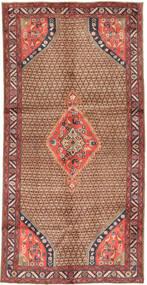 Koliai Teppe 148X291 Ekte Orientalsk Håndknyttet Teppeløpere Mørk Rød/Brun (Ull, Persia/Iran)