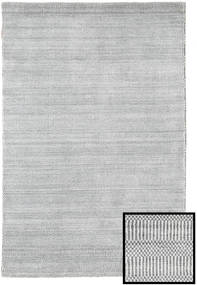 Bamboo Grass - Grå Teppe 120X180 Moderne Lys Grå/Beige (Ull/Bambus Silke, Tyrkia)