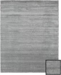 Bamboo Grass - Black_ Grå Teppe 190X240 Moderne Lys Grå/Mørk Grå/Turkis Blå (Ull/Bambus Silke, Tyrkia)