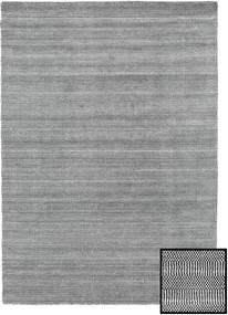 Bamboo Grass - Black_ Grå Teppe 160X230 Moderne Lys Grå/Mørk Grå (Ull/Bambus Silke, Tyrkia)
