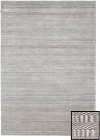 Bamboo Grass - Beige Teppe 160X230 Moderne Lys Grå (Ull/Bambus Silke, Tyrkia)