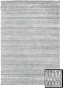 Bamboo Grass - Grå Teppe 160X230 Moderne Lys Grå (Ull/Bambus Silke, Tyrkia)