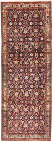 Hamadan Teppe 102X280 Ekte Orientalsk Håndknyttet Teppeløpere Mørk Rød/Mørk Brun (Ull, Persia/Iran)