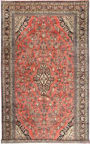 Hamadan Teppe 313X532 Ekte Orientalsk Håndknyttet Mørk Rød/Lysbrun Stort (Ull, Persia/Iran)