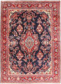 Hamadan Shahrbaf Teppe 215X292 Ekte Orientalsk Håndknyttet Rust/Mørk Grå (Ull, Persia/Iran)