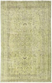 Colored Vintage Teppe 167X265 Ekte Moderne Håndknyttet Lysgrønn/Mørk Beige (Ull, Tyrkia)