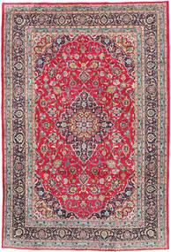Kashmar Teppe 197X300 Ekte Orientalsk Håndknyttet Lys Grå/Mørk Brun (Ull, Persia/Iran)