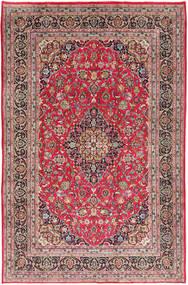Kashmar Teppe 197X300 Ekte Orientalsk Håndknyttet Rust/Lys Grå (Ull, Persia/Iran)