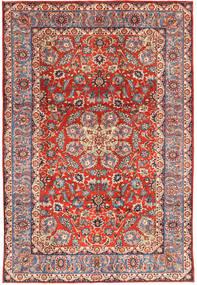 Ghom Sherkat Farsh Teppe 208X305 Ekte Orientalsk Håndknyttet Mørk Rød/Mørk Brun (Ull, Persia/Iran)