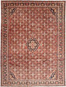 Hosseinabad Teppe 270X360 Ekte Orientalsk Håndknyttet Mørk Rød/Lysbrun Stort (Ull, Persia/Iran)