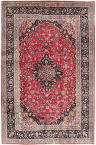 Kashmar Teppe 192X290 Ekte Orientalsk Håndknyttet Lys Grå/Rust (Ull, Persia/Iran)