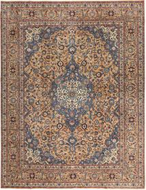 Keshan Patina Teppe 292X385 Ekte Orientalsk Håndknyttet Mørk Brun/Mørk Rød Stort (Ull, Persia/Iran)