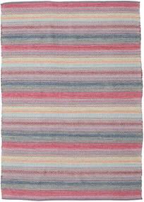 Wilma - Pink Teppe 170X240 Ekte Moderne Håndvevd Lys Grå/Lyselilla (Bomull, India)