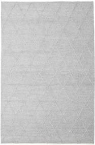 Svea - Sølvgrå Teppe 200X300 Ekte Moderne Håndvevd Lys Grå/Hvit/Creme (Ull, India)