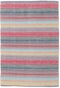 Wilma - Pink Teppe 120X180 Ekte Moderne Håndvevd Lys Grå/Lyselilla (Bomull, India)