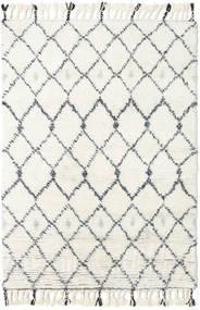 Sauda - Natural Grå Teppe 120X180 Ekte Moderne Håndknyttet Beige/Hvit/Creme (Ull, India)