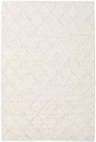 Rut - Is Grå Melange Teppe 160X230 Ekte Moderne Håndvevd Lys Grå/Beige/Hvit/Creme (Ull, India)