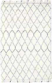 Sauda - Natural Grå Teppe 200X300 Ekte Moderne Håndknyttet Beige/Hvit/Creme (Ull, India)