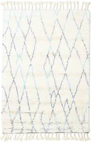 Rana - Natural/Blå Teppe 160X230 Ekte Moderne Håndknyttet Beige/Hvit/Creme (Ull, India)