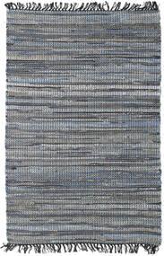 Sonja Mix - Denim/Jute Teppe 100X160 Ekte Moderne Håndvevd Mørk Grå/Svart ( India)