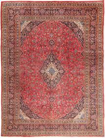 Mashad Teppe 295X390 Ekte Orientalsk Håndknyttet Mørk Rød/Lysbrun Stort (Ull, Persia/Iran)