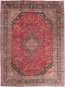 Mashad Teppe 295X395 Ekte Orientalsk Håndknyttet Mørk Rød/Brun Stort (Ull, Persia/Iran)