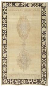 Taspinar Teppe 140X246 Ekte Orientalsk Håndknyttet Mørk Beige/Beige (Ull, Tyrkia)