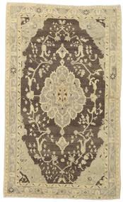 Taspinar Teppe 136X227 Ekte Orientalsk Håndknyttet Olivengrønn/Mørk Beige (Ull, Tyrkia)