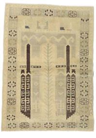 Taspinar Teppe 106X146 Ekte Orientalsk Håndknyttet Lysgrønn/Mørk Beige/Beige (Ull, Tyrkia)