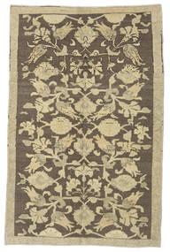 Taspinar Teppe 140X215 Ekte Orientalsk Håndknyttet Olivengrønn/Mørk Grå (Ull, Tyrkia)