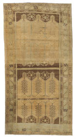 Taspinar Teppe 97X190 Ekte Orientalsk Håndknyttet Lysbrun/Brun (Ull, Tyrkia)