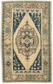 Taspinar Teppe 168X270 Ekte Orientalsk Håndknyttet Beige/Lysgrønn (Ull, Tyrkia)