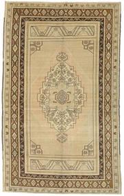 Taspinar Teppe 161X260 Ekte Orientalsk Håndknyttet Mørk Beige/Lysgrønn (Ull, Tyrkia)