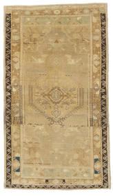 Taspinar Teppe 115X200 Ekte Orientalsk Håndknyttet Mørk Beige/Lysbrun (Ull, Tyrkia)