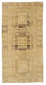 Taspinar Teppe 101X196 Ekte Orientalsk Håndknyttet Mørk Beige/Lysbrun (Ull, Tyrkia)