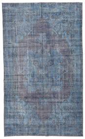 Colored Vintage Teppe 185X308 Ekte Moderne Håndknyttet Lys Blå/Blå/Mørk Grå (Ull, Tyrkia)