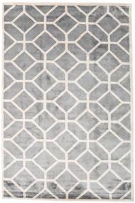 Palace Teppe 200X300 Ekte Moderne Håndknyttet Lys Grå/Hvit/Creme ( India)