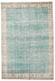 Taspinar Teppe 207X300 Ekte Orientalsk Håndknyttet Lys Grå/Turkis Blå (Ull, Tyrkia)
