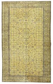 Colored Vintage Teppe 166X272 Ekte Moderne Håndknyttet Lysgrønn/Olivengrønn (Ull, Tyrkia)