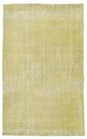 Colored Vintage Teppe 152X246 Ekte Moderne Håndknyttet Lysgrønn/Mørk Beige (Ull, Tyrkia)